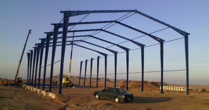 شروع نصب سوله در منطقه آزاد ماکو