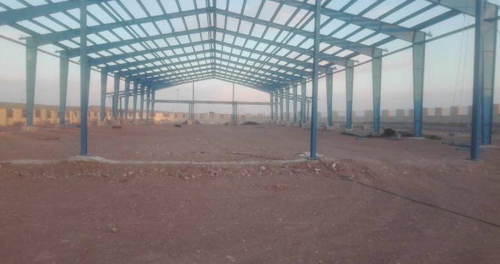 ساخت سوله در شهرک صنعتی قزوین
